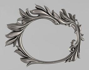fronton Frame for the mirror 3D printable model