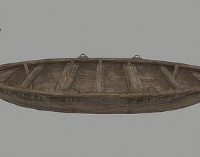 3D asset boat 6