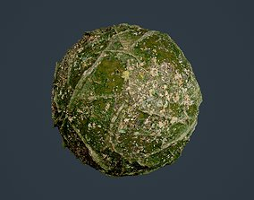 3D model Forest Ground Seamless PBR Texture 04