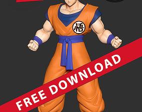 db-gt Super Saiyan Goku 3D print model