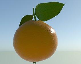 3D model Orange fruit