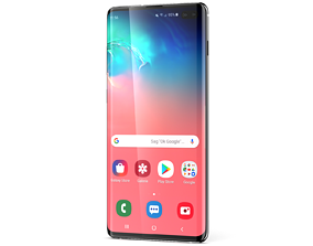 3D model galaxy Samsung Galaxy S10 plus