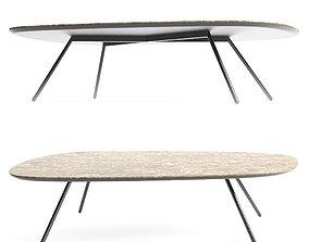 3D model Calligaris Tweet Ceramic Coffee Table other