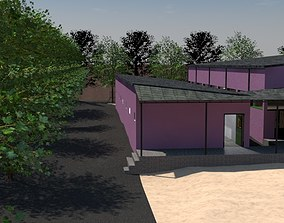 3D model equestrian center