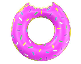 Donut Pool Float 3D model