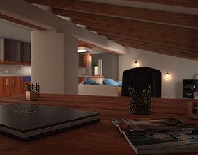 3D model PR Attic 01
