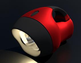 alkaline FLASHLIGHT 3D model