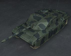 3D model Challenger2 British tank