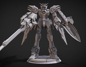 3D printable model Wing Gundam EW ver