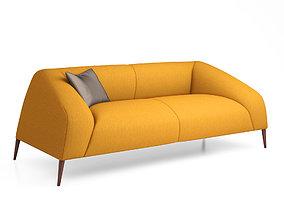Sebastian 3-Seater Sofa from Estel 3D model