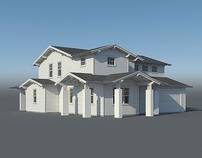 3D model Family House 005