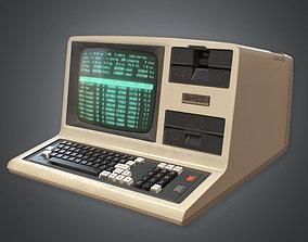 Computer 01 Retro 80s 3D model low-poly