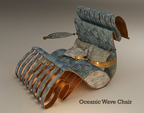 Oceanic Wave Chair 3D model