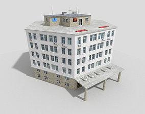 Commercial Building 3D model realtime