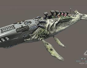 3D model Biomechanical Whale