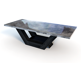 3D Table stone marble