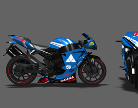 3D model yamaha Sports bike PBR