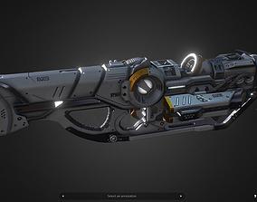 3D asset DX5 Mobility Rifle