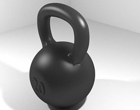 3D model Exercise Equipment Kettlebell