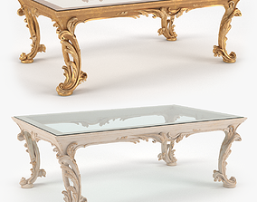 3D Classic Coffee Table - Chelini Art 1064 - set