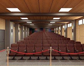 3D model Theatre Hall Scene