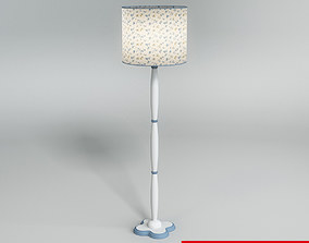3D model torchiere Table Lamp