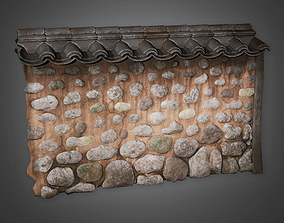 3D model Outdoor Wall 11 GFS - PBR Game Ready