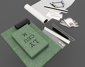 Drawing supplies 3D