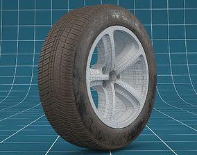 Car tire 06 3D model