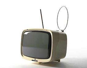 Alfa BE1022 TV 3D model vintage