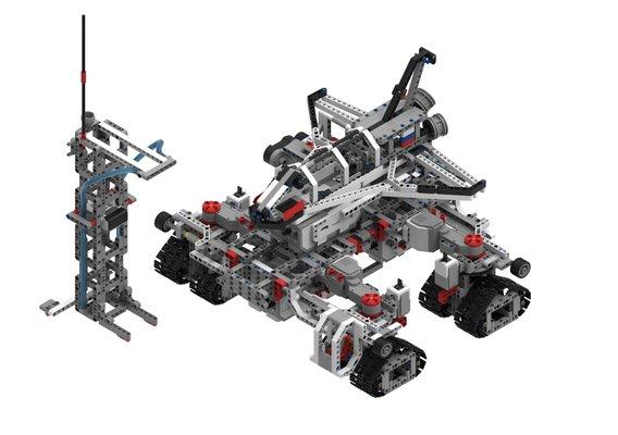 LEGO EV3 Crawler-transporter