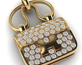 3D print model Hermes Constance Amulette Bag Pendant 1