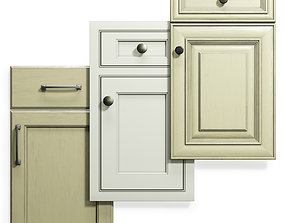 3D model Cabinet Doors Set 13