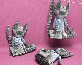 3D kids cat toy 02