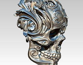 3D print model Carved Pattern Floral Modern Art Human