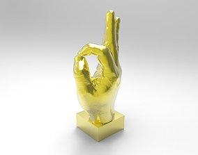 3D print model hand ok