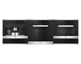 3D model Miele appliances
