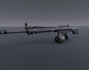3D asset HK21 - Model and Textures