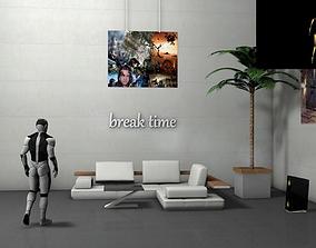 3D break time