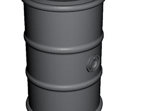 3D printable model Barrel