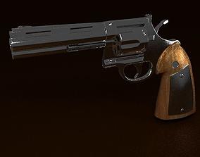 3D model Colt Python Revolver