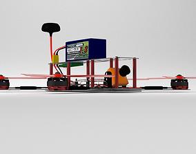 Racing drone 3D model