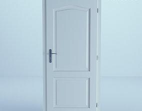3D White Door 14