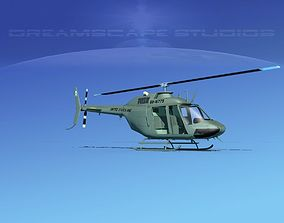 Bell OH-58B US Army 2 3D model