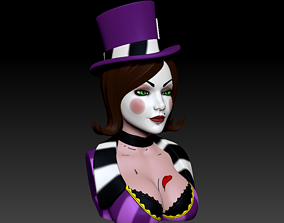 3D printable model Bust - Mad Moxxi