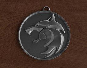 The Witcher medallion 3d 3D print model