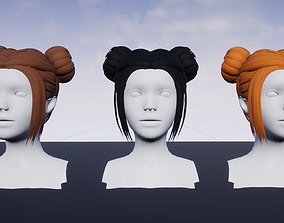 3D asset Hairstyle 7