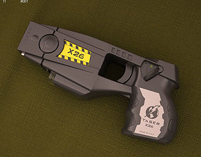 us Police issue X26 Taser 3D