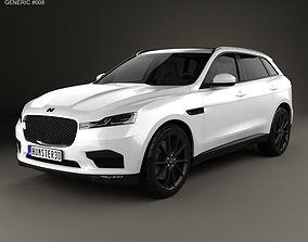 Generic SUV 2016 branding 3D