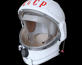 Space helmet USSR 3D